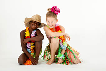 Kinderfeestjes fotoshoot